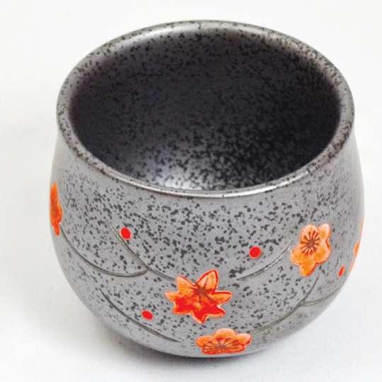 JA-UNENDLICH: Porzellanbecher aus Gusseisen, Serie Blumen, Modell YH 1303