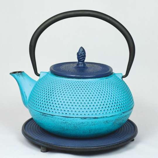 Blumig und Maritim: Teekannen von ja-unendlich / Teekanne Modell Arare