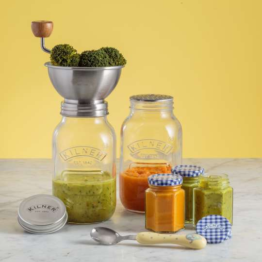 Kilner - Saucenpresse (1 Liter) mit Vorratsglas und Deckel 0025.002 Mood