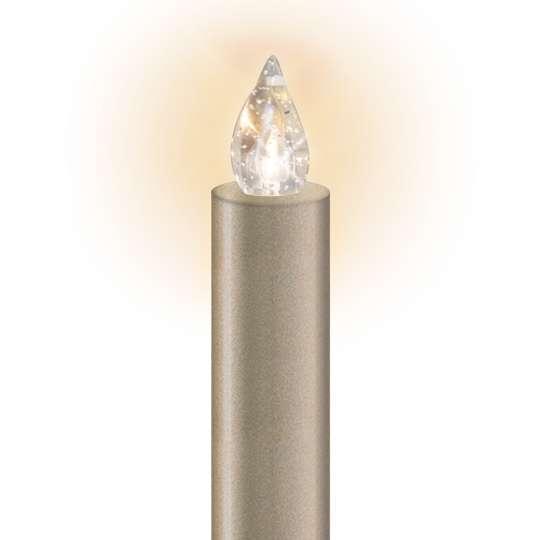 Lumix - LED-Christbaumkerze Cashmere
