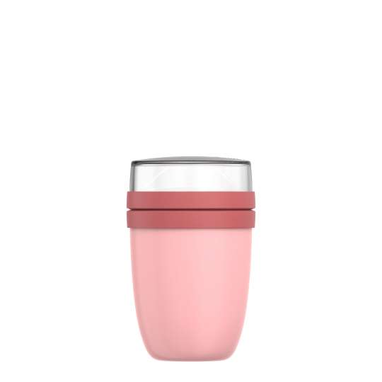 Mepal: Thermo-Lunchpot Ellipse Edelstahl 500 + 200 ml, Nordic pink