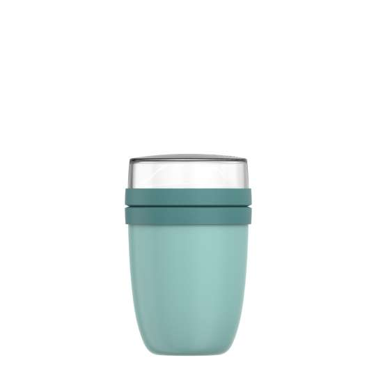 Mepal: Thermo-Lunchpot Ellipse Edelstahl 500 + 200 ml, Nordic green