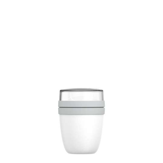 Mepal: Lunchpot Ellipse mini, 300 + 120 ml Nordic white