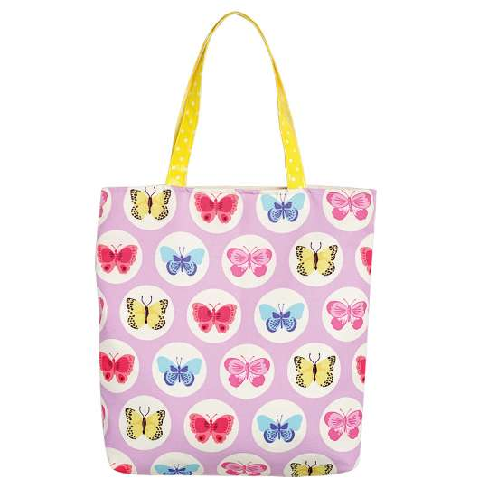 Mila: 'Fly with the butterfly' / Shopper pink, 30303