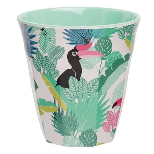 Mila: Kollektion Ginger / Thema Jungle - Melamin Becher / 30439