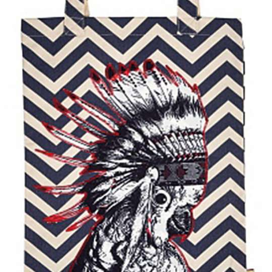 Mila: Kollektion Ginger / Thema 'Bags and others' / Tasche - Motiv Indianer, 30529