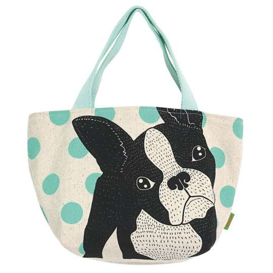 Mila: Kollektion 'Dogs and Cats' / Handtasche Dog mint, 30319