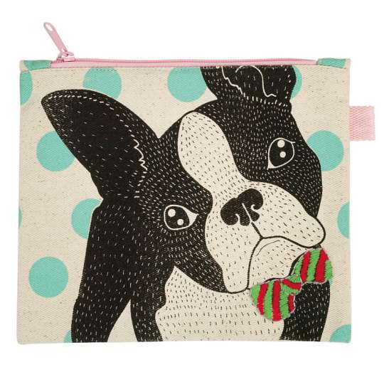 Mila: 'Dogs and Cats' / Täschchen Dog mint 30321