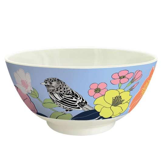 Mila: Kollektion Ginger / Thema 'Flowerbird' – Melamin Schale, 30659