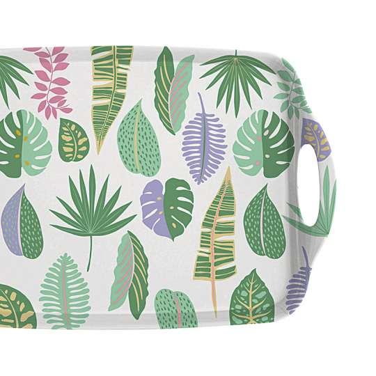 Mila: Kollektion Ginger / 'Plants': Melamin Tablett 30635
