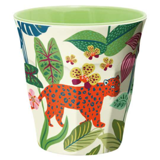 Mila: Kollektion Ginger / Thema 'Wildlife' - Melamin Becher 30603