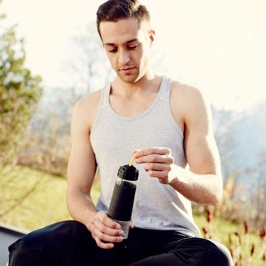 Richtig trinken bei Sommerhitze mit nuapua