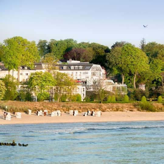 Strandhotel Ostseeblick - Strandsicht