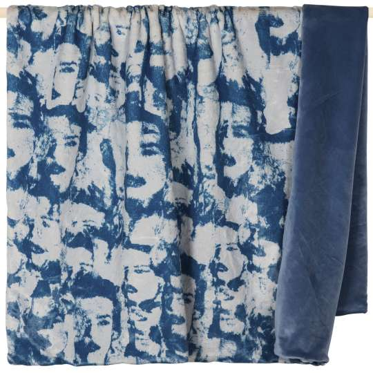PAD: Kollektion 'Fashion' -  Decke, dusty blue