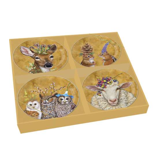 PPD Teller-Set Woodsy & Wise - 603030