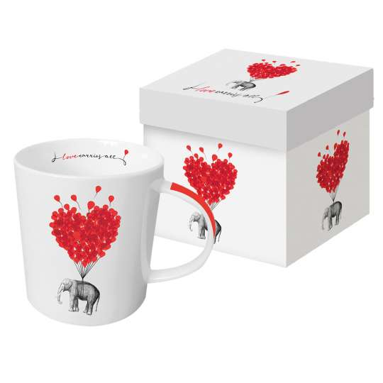 PPD Trend Mug Gift Box Love Carries All