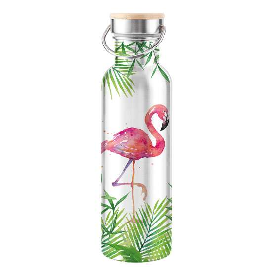 ppd Stainless Steel Bottles - Tropical Flamingo - 603904