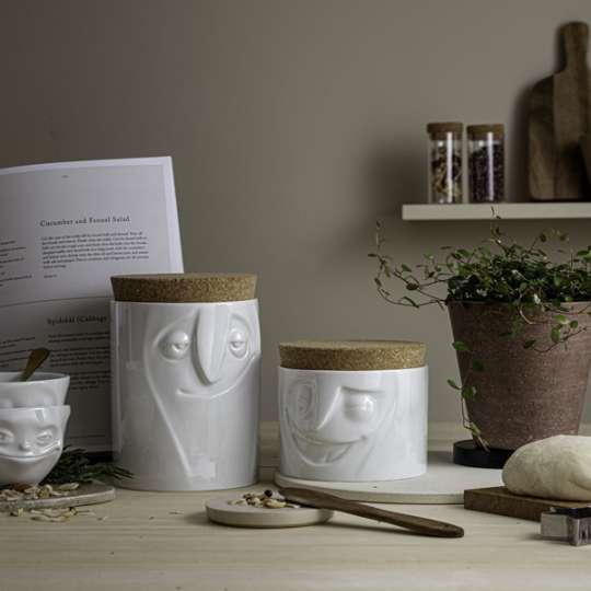 Fiftyeight products: Vorratsdosen mit Gesicht