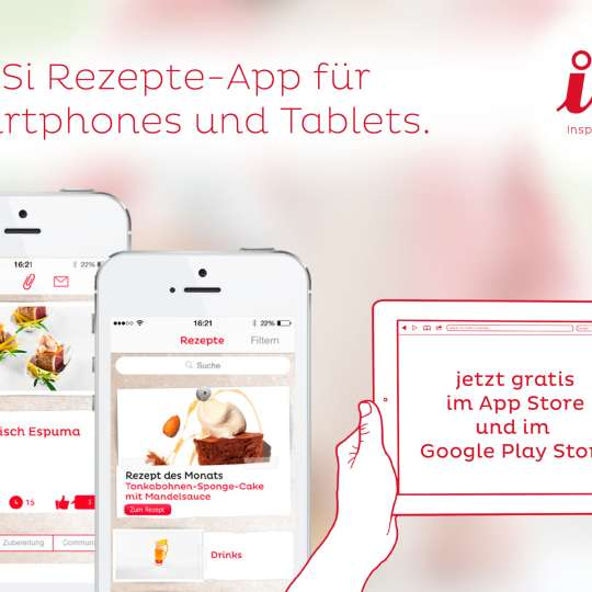 iSi Rezepte App, Advertorial