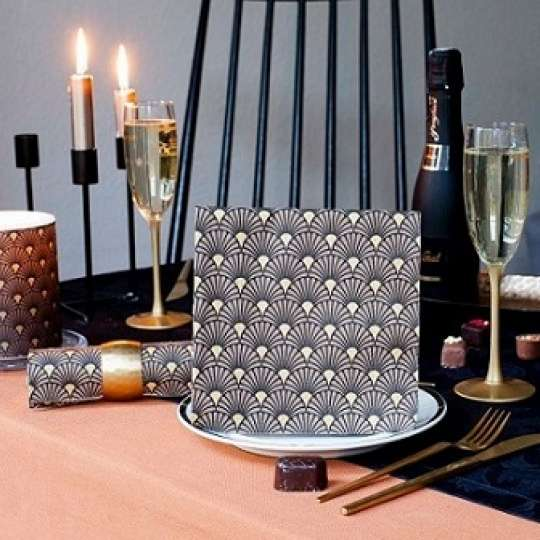 "Ambiente Europe Must-Have: Tafeldekor im Stil der ""Roaring Twenties"""
