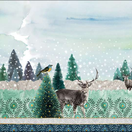 Ambiente Europe Deer Winterscene