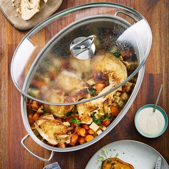 Echte Multitalente für die Winterküche: Bräter von BERNDES