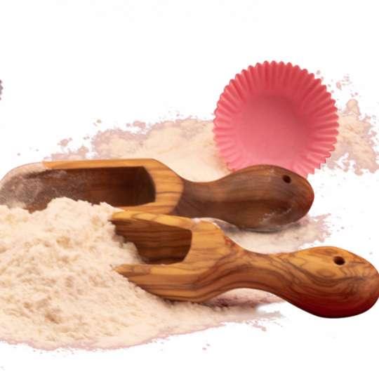 Formschöne und praktische  Kuechenartikel aus Holz