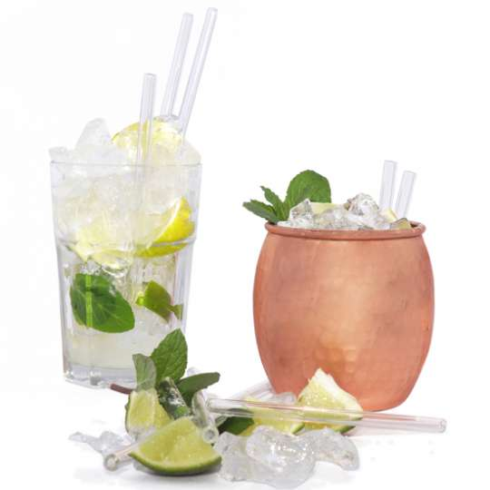 Homiez: Glas-Trinkhalm 'Vetro' für den gesunden und umweltfreundlichen Genuß