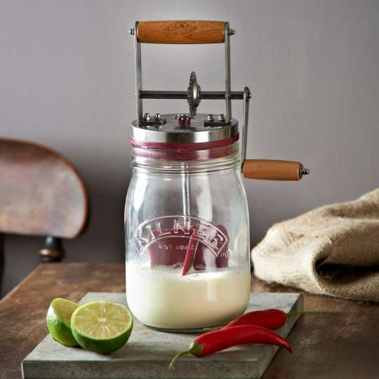 Kilner - Butterfass CreateMake-Butter Churner