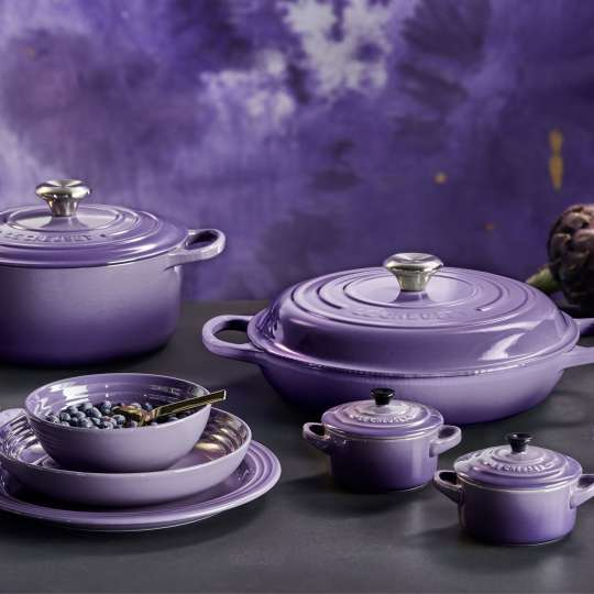 Le Creuset - Inspiration trifft kulinarischen Lifestyle: Ultra Violet