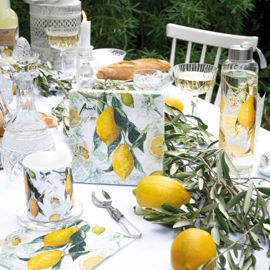 """Tafeldekor""""Lemon"""" von Ambiente Europe: Vitamin C tut gut!"""