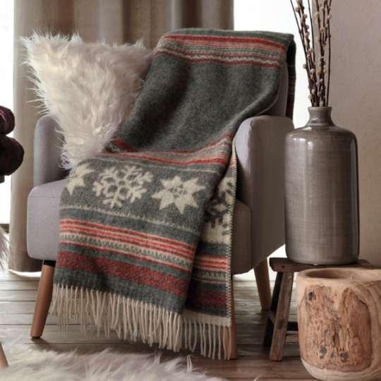Linvosges-Kollektionen mit Hüttenflair für gemütliche Wintertage