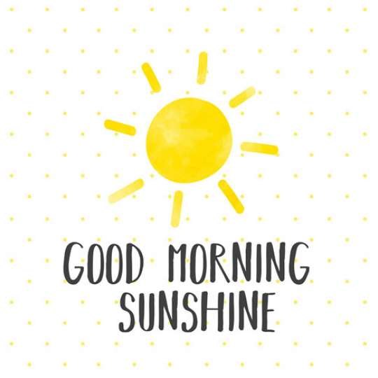 PPD Sunny Yellow  Good Morning Sunshine