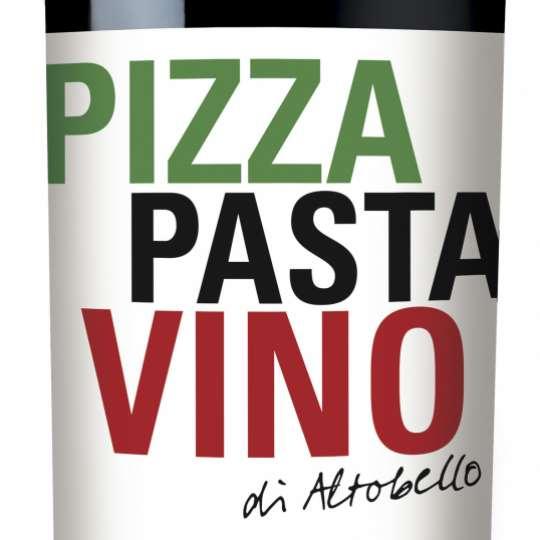 """ZGM """"Pizza Pasta Vino di Altobello"""" Rotwein"""