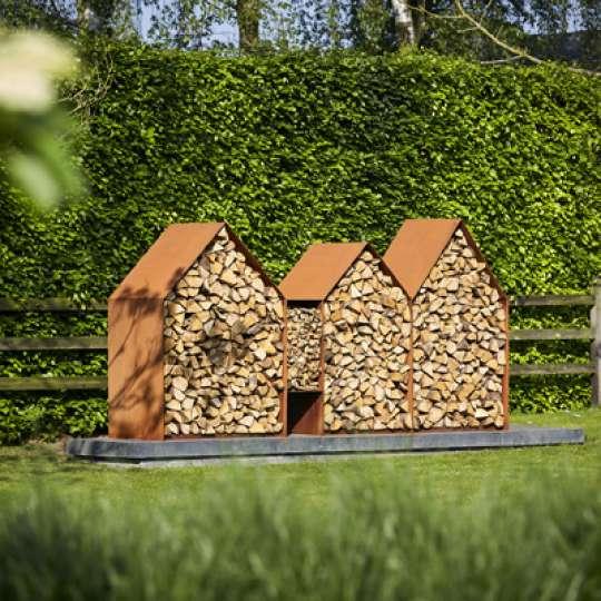 Endlich ein stylisches Holzlager! RB73 präsentiert 'Bruges'
