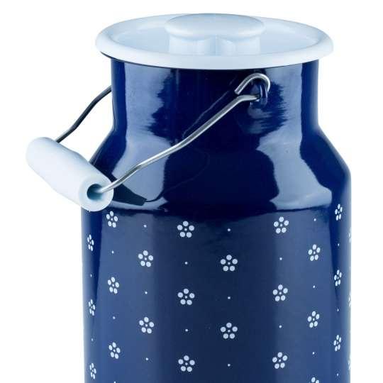 Riess COUNTRY Dirndl Milchkanne mit Deckel blümchenblau