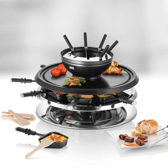 UNOLD - 48726 - RACLETTE Multi 4 in 1 - Titel