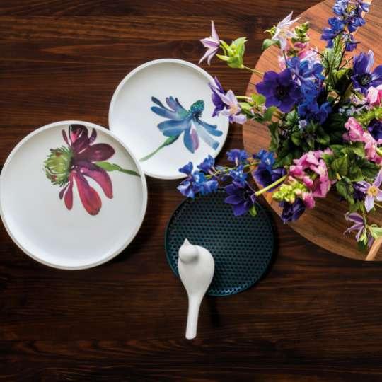 Artesano Flower Art: Plakatives Blumendekor für ausgesuchte Geschirrteile