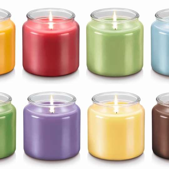 Duftkerzen 'Fancy Home' gross. Alle Farben und Duftvarianten
