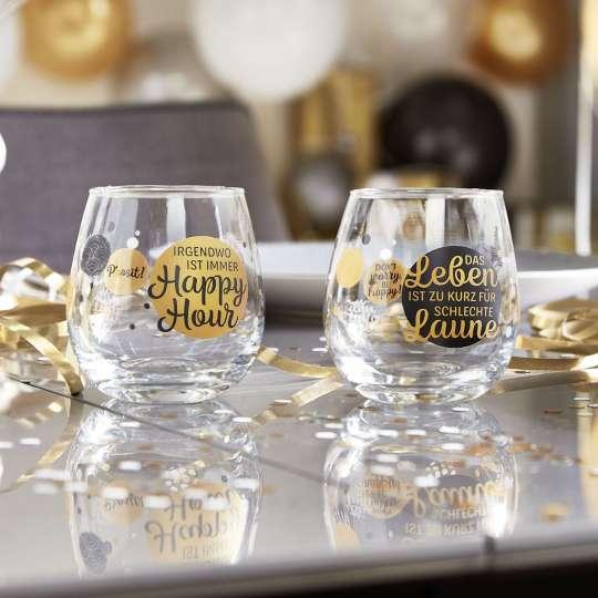 Die neue Geschenk-Idee von formano: Wortstarke Spruch-Gläser für jeden Anlass