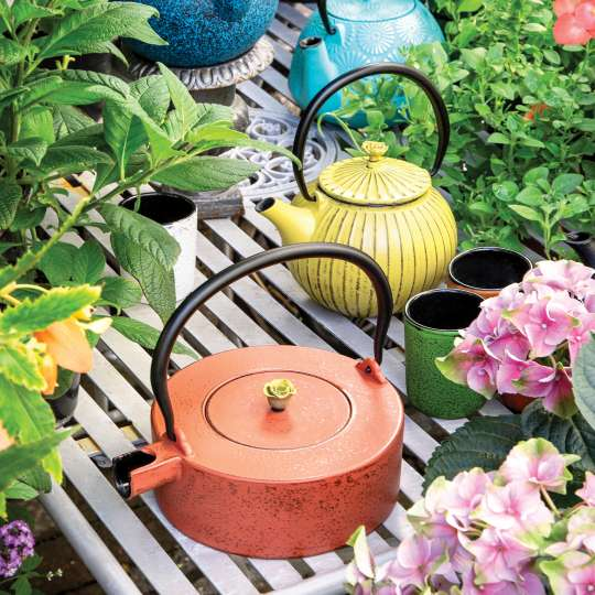 Teekannen und andere Produkte aus Gusseisen von JA-UNENDLICH