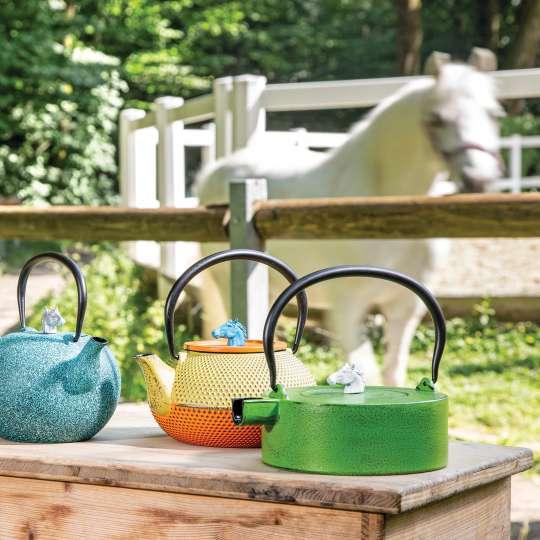 JA-UNENDLICH: Teekannen aus Gusseisen, Country