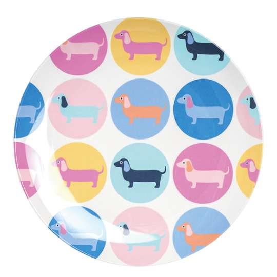 Mila: Kollektion Ginger / Thema 'Sausage Dog' - Dackel im Retrolook