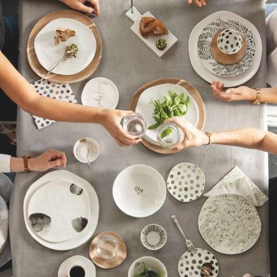 Gedeckter Tisch mit Mix and Match