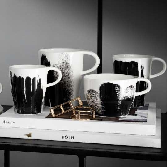 Tassen für Espresso, Espresso doppio, Kaffee, Cappuccino und Milchkaffee