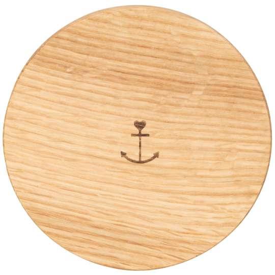 Räder - Serie: Meer als Worte /  Duftkerze - Holzdeckel