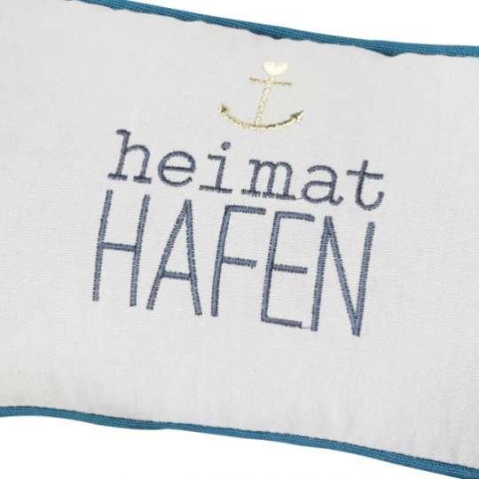 Räder - Serie: Meer als Worte / Traumkissen, Heimathafen Vorderseite