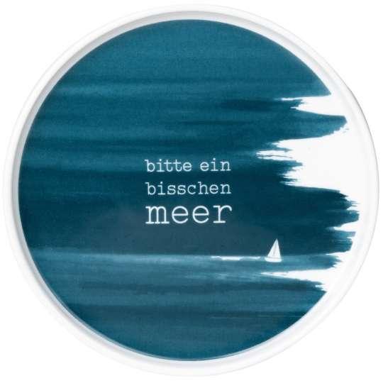 Räder - Serie: Meer als Worte / Teller 'Bitte ein bisschen Meer'