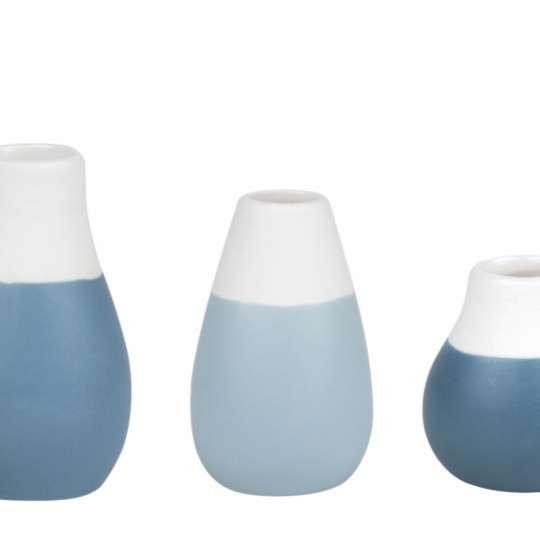 räder: Das Leben ist schön! Mini Pastellvasen. Set aus 4 Vasen