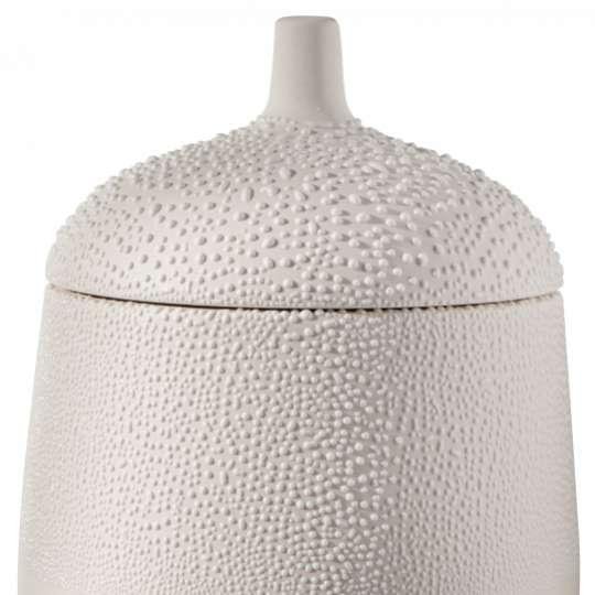 Räder: raffinierte Herstellung: Vasen, Schalen und Dosen in Perlenoptik / Perlendose gross